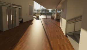 A picture of a wooden floor